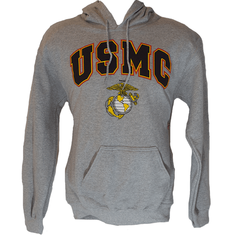 USMC Sweatshirt - Grey Outerwear
