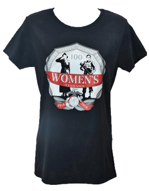Women Marines Centennial (Women's Cut) T-Shirt T-Shirt