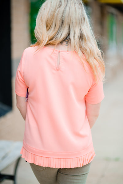 Pink Book Club Blouse