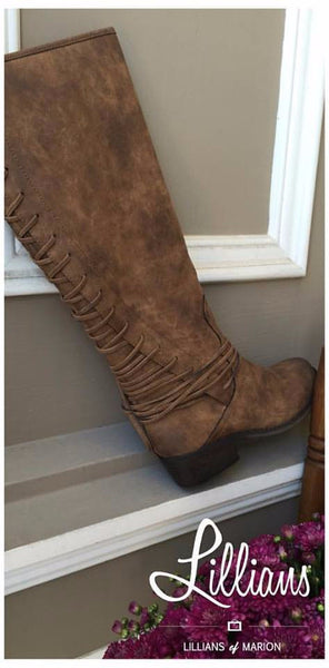 Miraculous Lace Up Boot