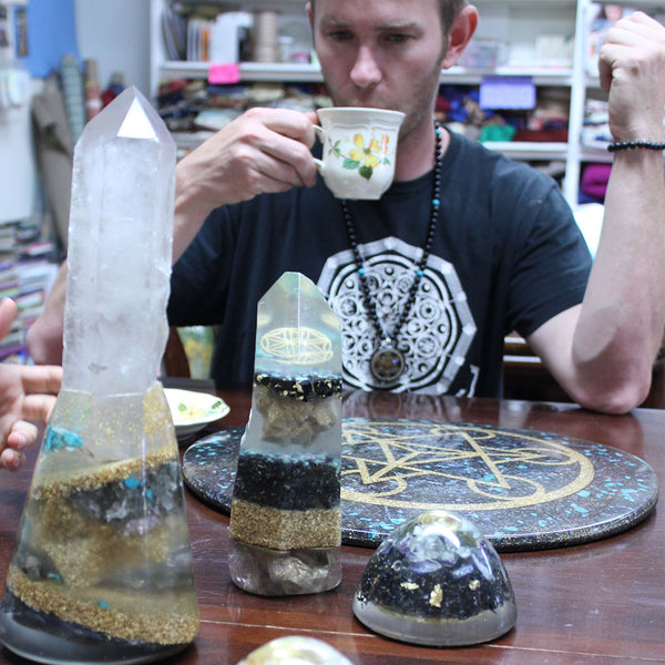 Talking Orgonite with Branch