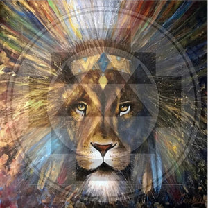 Lion Spirit By John Mosey - Earth's Elements