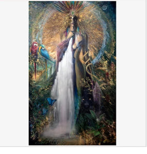 Goddess Rising By John Moseley - Earth's Elements