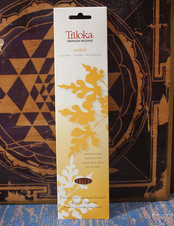 Triloka Amber Incense - Earth's Elements