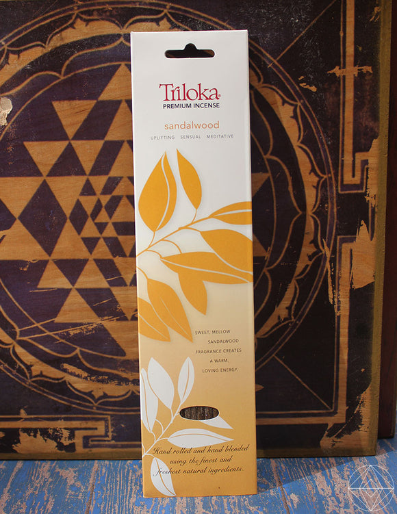Triloka Sandalwood Incense - Earth's Elements