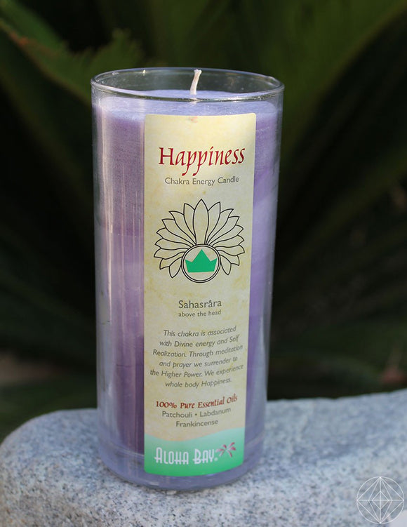 11oz Happiness Candle - Earth's Elements