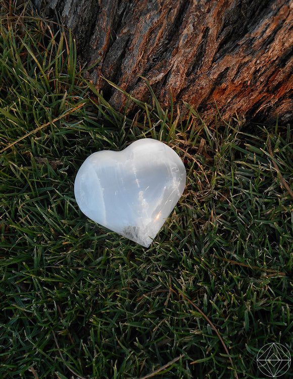 Heart Selenite - Earth's Elements