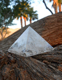 Crystal Clear Quartz Pyramid (Large) - Earth's Elements