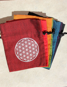 Chakra Gem Pouches - Earth's Elements