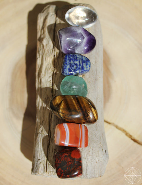 I Am Divine - Gemstone Chakra Set - Earth's Elements