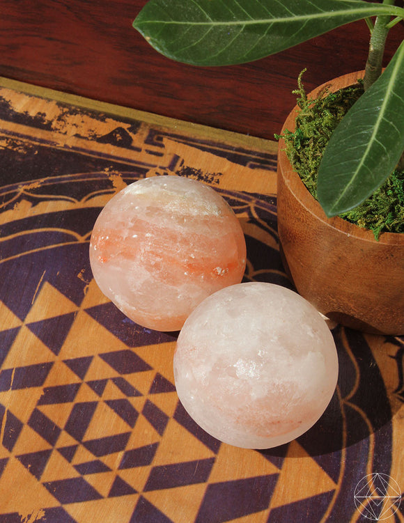 Himalayan Salt Sphere Small - Earth's Elements