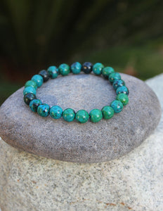 Chrysocolla Bracelet - Earth's Elements
