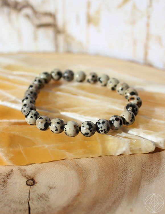 Crystal Bracelet: Dalmatian Jasper - Earth's Elements