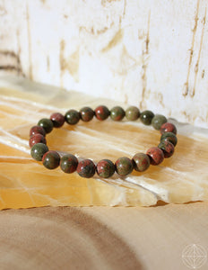 Crystal Bracelet: Unakite - Earth's Elements