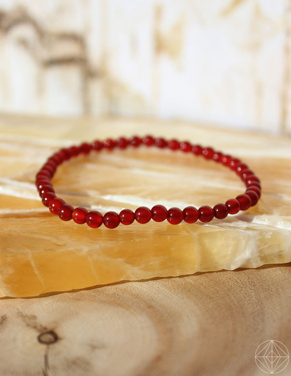 Petite Spirit Bracelet: Carnelian - Earth's Elements