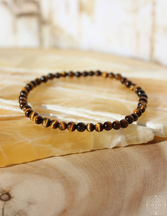 Petite Spirit Bracelet: Tigers Eye - Earth's Elements