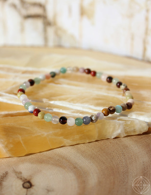Petite Spirit Bracelet: Rainbow Gems - Earth's Elements