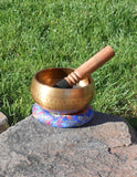 Hand Formed Tibetan Singing Bowl - Earth's Elements