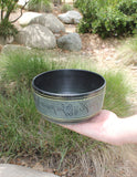 "Black Indian Singing Bowl Deep 7"" - Earth's Elements"