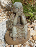 Speak No Evil Baby Buddha - Earth's Elements