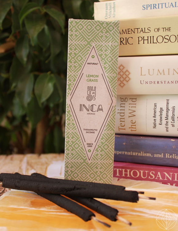 Therapeutic Incense: Lemon Grass - Earth's Elements