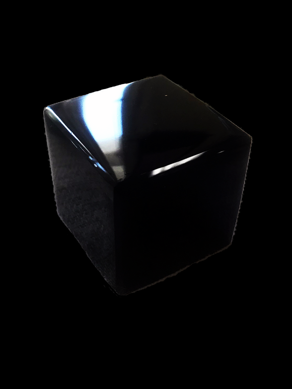 Obsidian Cube - Earth's Elements