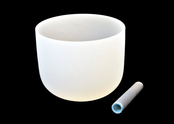 Quartz Crystal Singing Bowl 12
