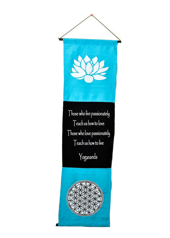 Yogananda Banner - Earth's Elements