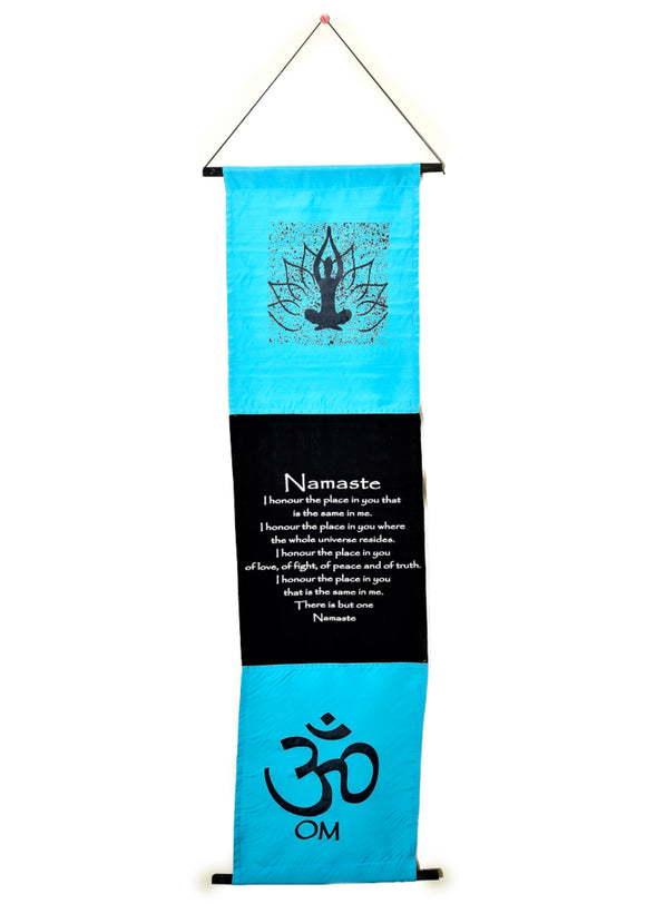 Namaste Banner - Earth's Elements