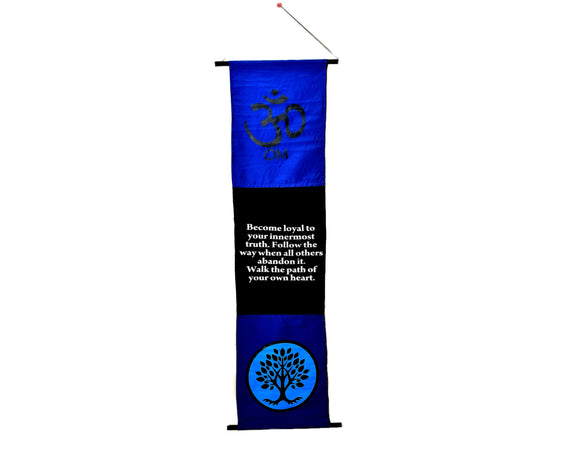 Om Banner - Earth's Elements