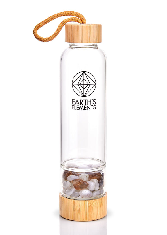 Earth's Elements Crystal Bottle Divine Empowerment - Earth's Elements