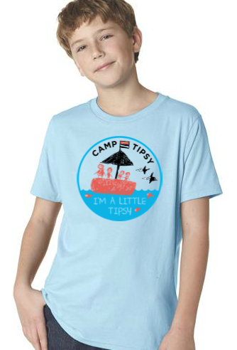 Camp Tipsy: Little Tipsy Kids t-shirt (Medium)