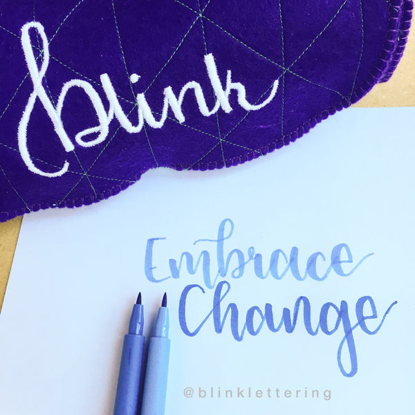 Blink Lettering - Milly McCulloch