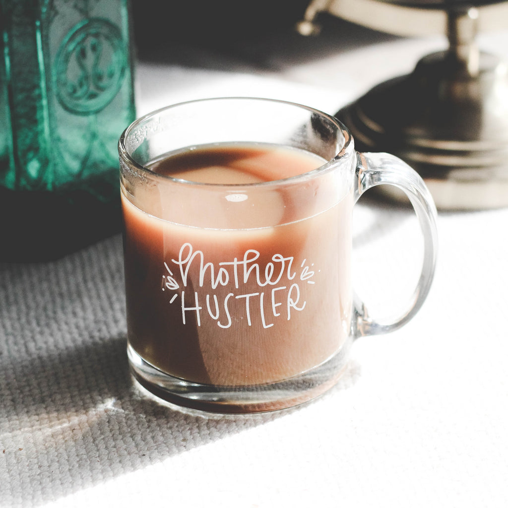 Mother Hustler Mug by Wanderlove Press