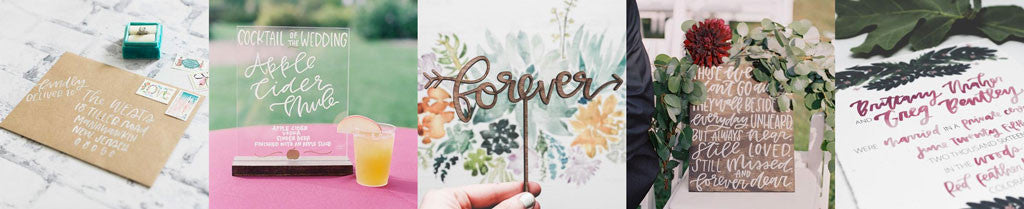 Envelope Calligraphy & Lettering | Wanderlove Press
