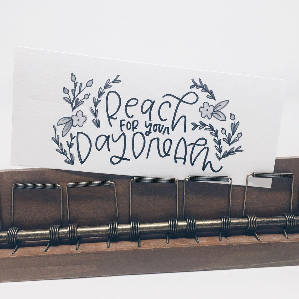 Reach for You Daydream - Hand Lettering by Wanderlove Press