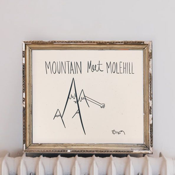 Mountain Meet Molehill