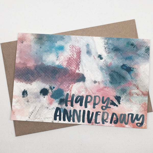 Happy Anniversary | Card by Wanderlove Press Co.