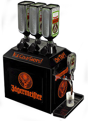 3 bottle jagermeister machine