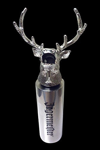 Jägermeister Stag Head Pourer & Bottle Neck Extender