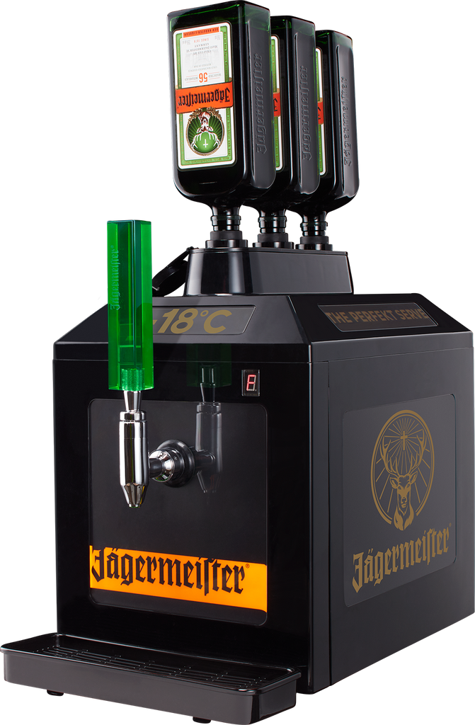 Jägermeister 3 Bottle Jemus Tap Machine Inc