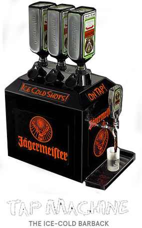 Jägermeister 3 Bottle Tap Machine