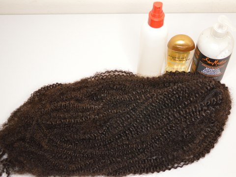 moisturise curly ponytail extensions