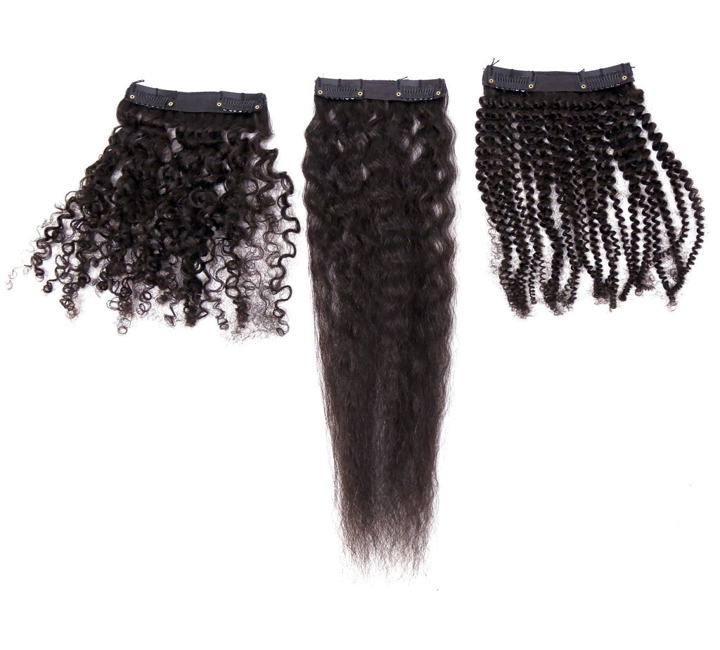 Natural Kinky Hair Samples