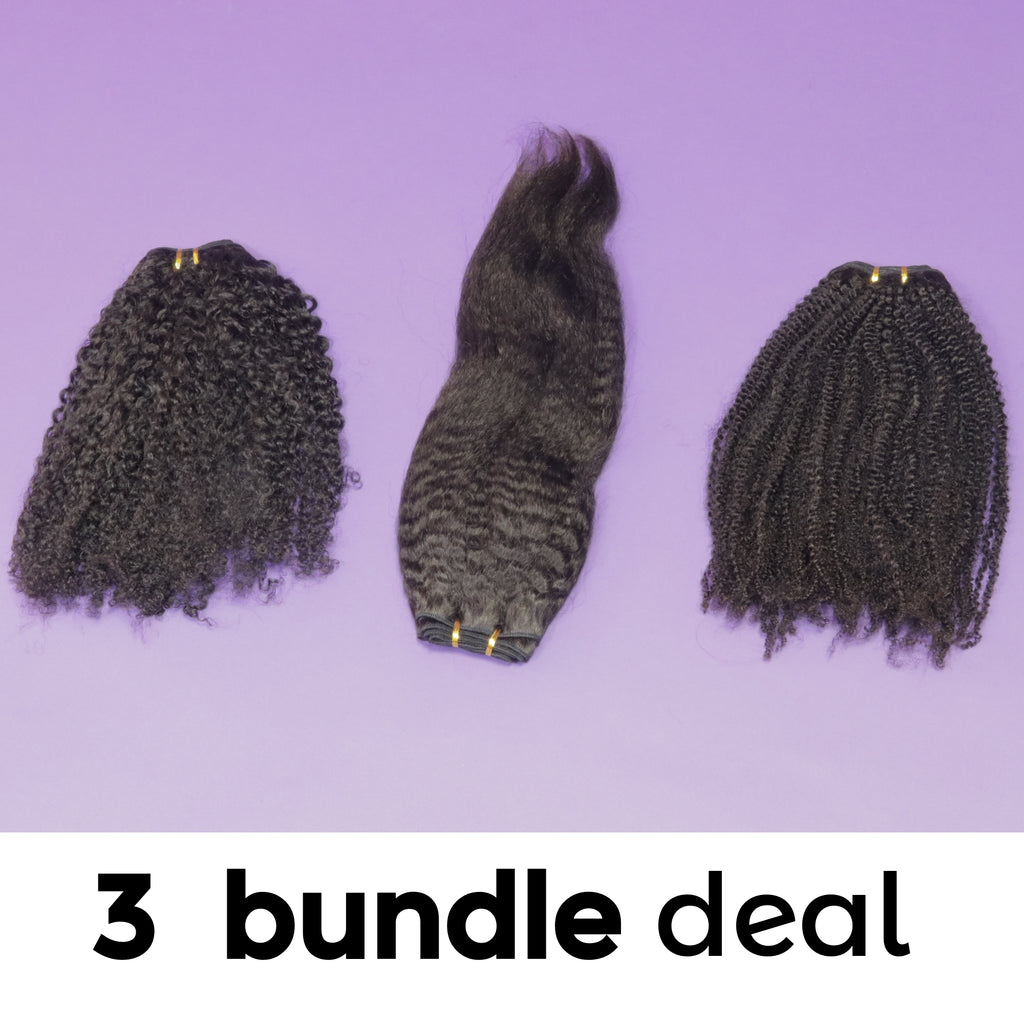 3 BUNDLE DEALS (Wefts Only)