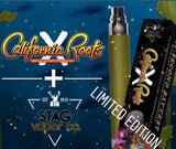 Cali Roots X and Stag vapor colab.