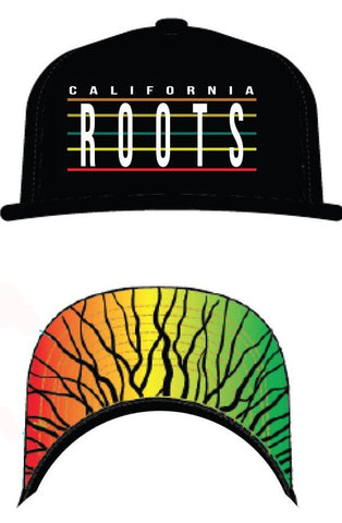multi Color CA Roots hat