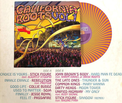 California Roots Vol. 1 2017 Vinyl Record