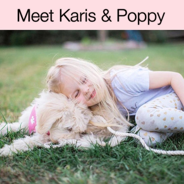 Meet Junior Puppy Mama Karis & Her Poppy Anne