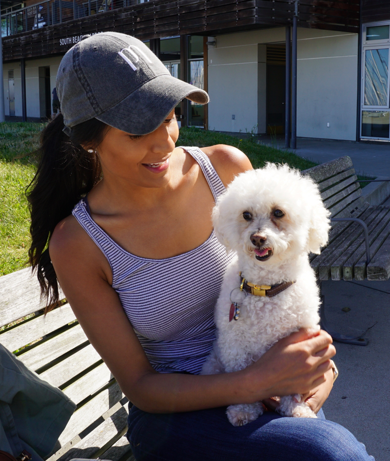 Stylish Navy Hat - For Dog Parents - Shop dog mom apparel and doodle mom gifts online!